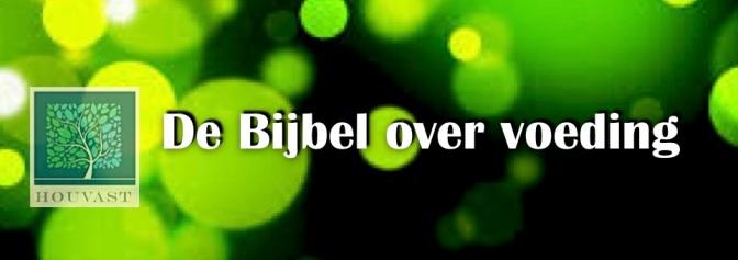 Bijbel Voeding