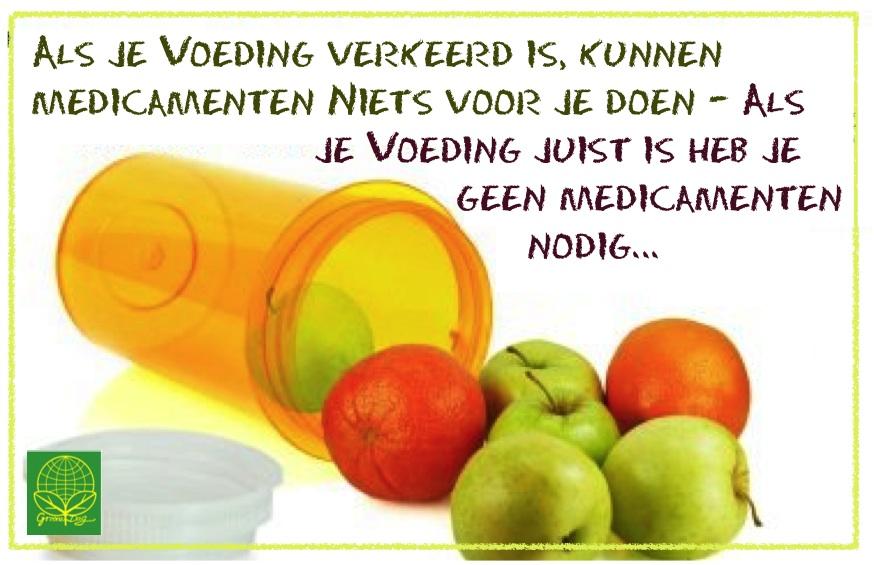Voeding medicijn